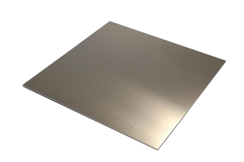 sheet of aluminum