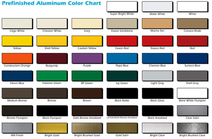 Color Coated Aluminum Sheet Colored Aluminum Sheet