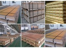PVDF color coated aluminum sheet