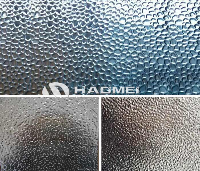 1050 stucco embossed aluminum Sheet