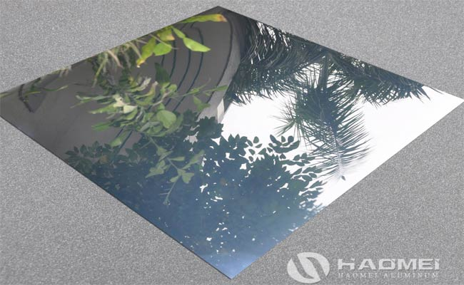 mirror aluminium sheet