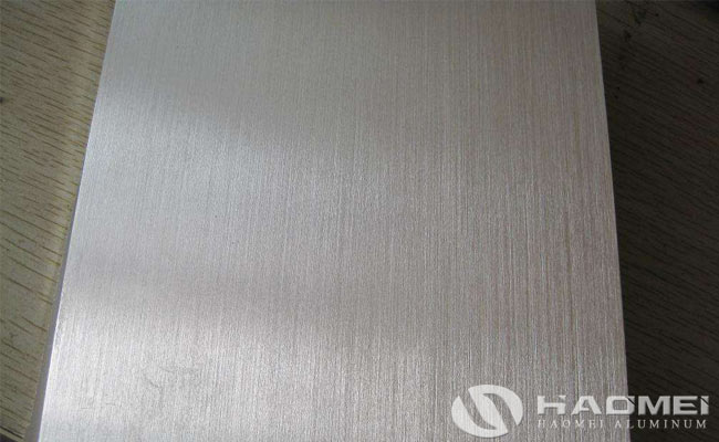 brushed aluminium sheets