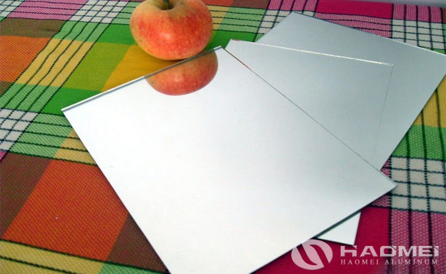 china aluminum mirror sheet