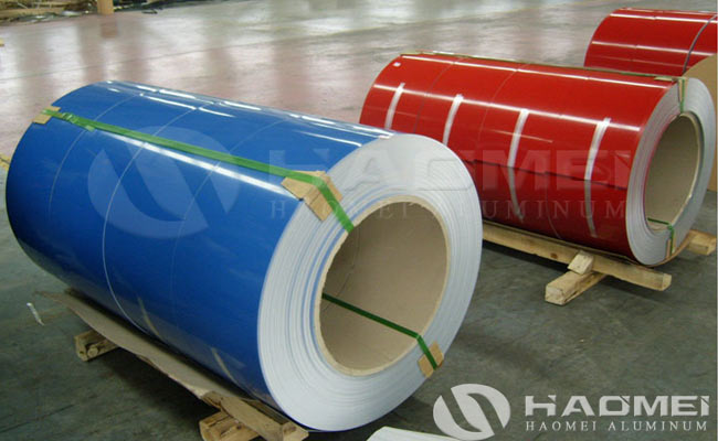 color coated aluminum sheet coil