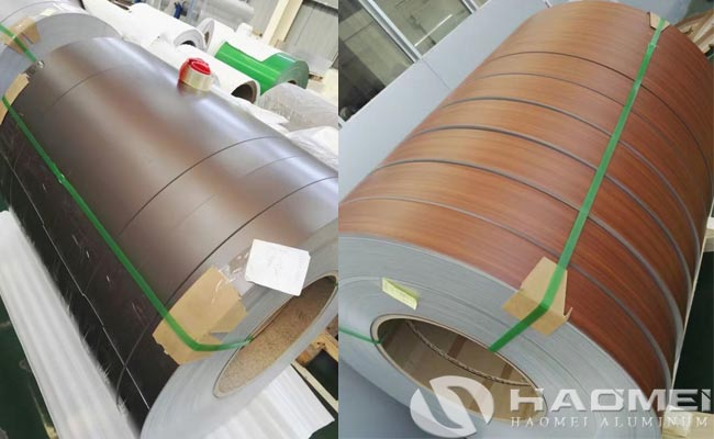 5052 color coated aluminum sheet coil
