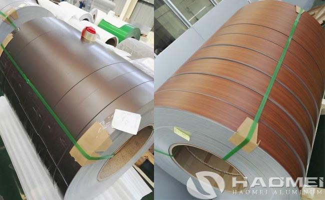 5052 color coated aluminum sheet coil