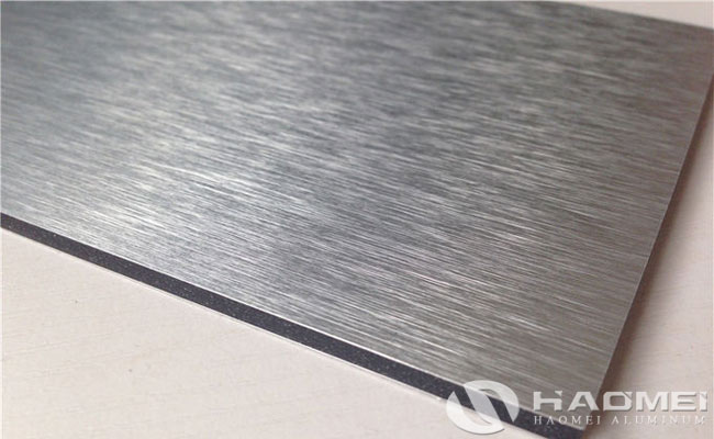 brushed aluminum sheets
