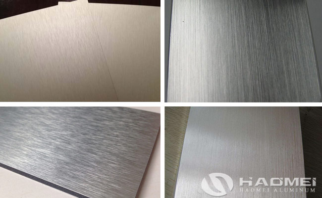 brushed aluminum sheet alloy 5052