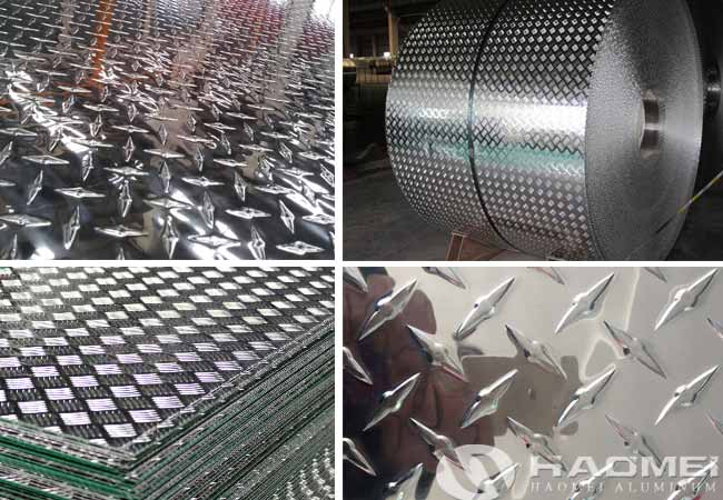 rice grain aluminum tread plate