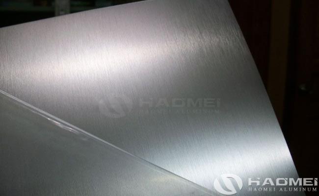 brushed aluminum sheet alloy