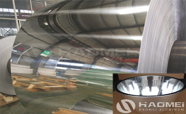 aluminium reflector sheet for lighting
