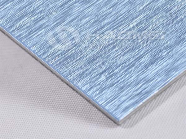 brushed aluminum 1100