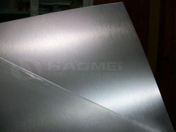 brushed aluminum 5052