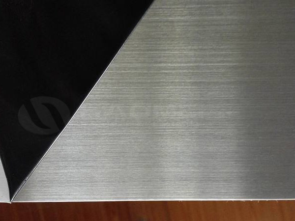 brushed aluminum 6061