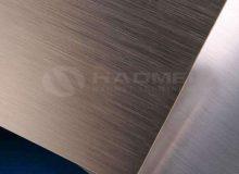 brushed aluminum laminate sheet