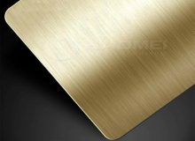 brushed anodized aluminum