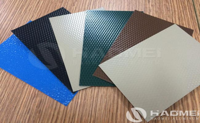 color coated stucco aluminum plate