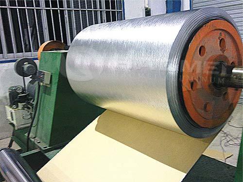 aluminum jacketing with polysurly kraft paper