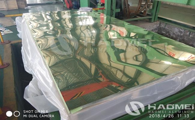 polished aluminum mirror sheet alloy 3003