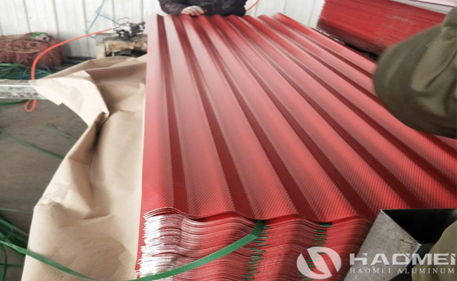 aluminium corrugated sheet price