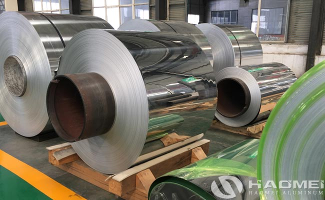 rolled mirror aluminum sheet