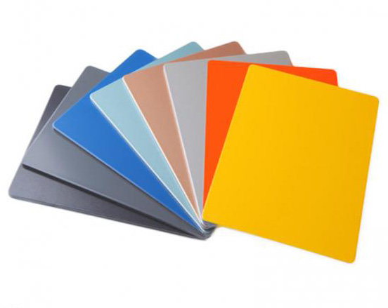 coated aluminum sheet