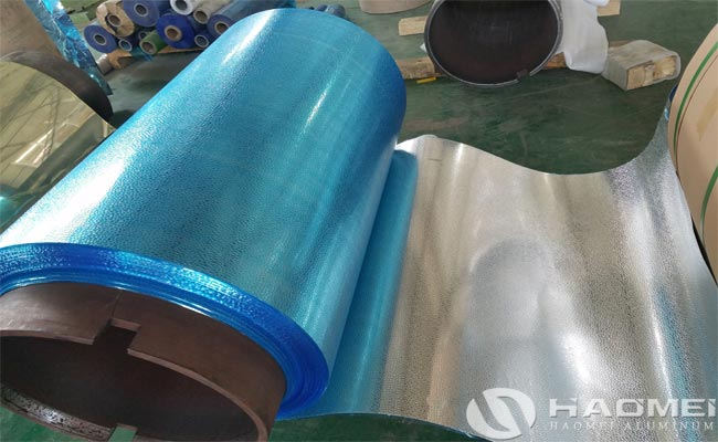 aluminum embossed sheet for construction