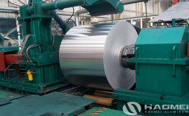 rolled aluminum sheet