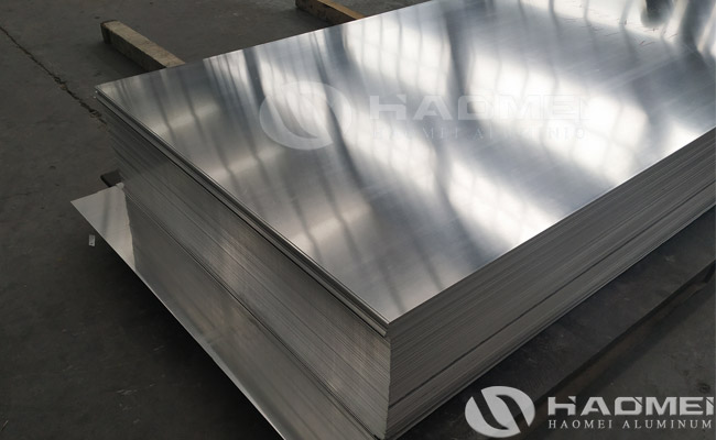 aluminium sheet for enclosure
