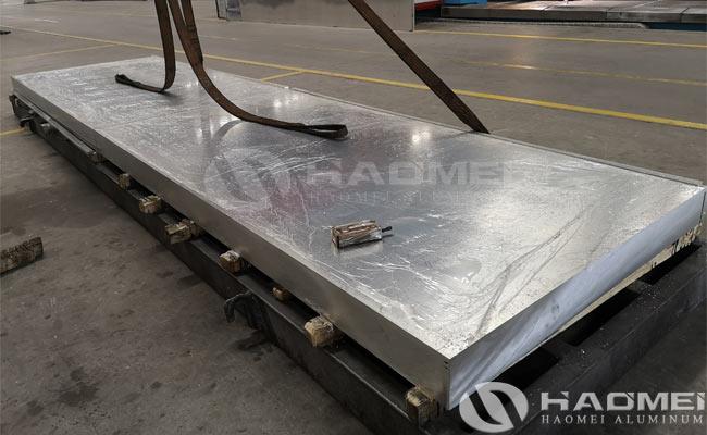 aluminum alloy armor plate