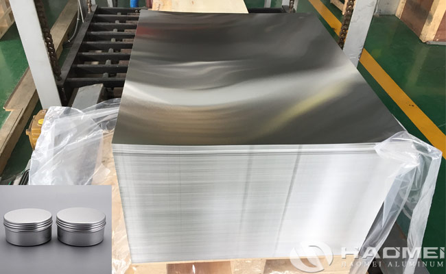 aluminum coil and sheet for closure pp caps
