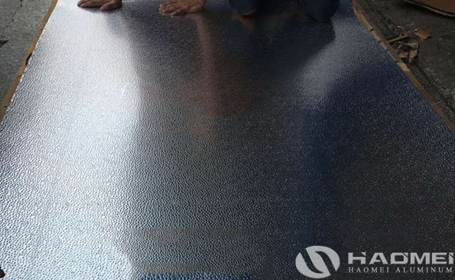 hammertone aluminum sheet supplier
