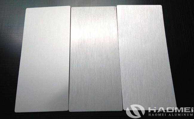 brushed aluminium sheet for sale