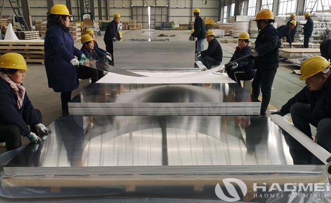 precision aluminum plate