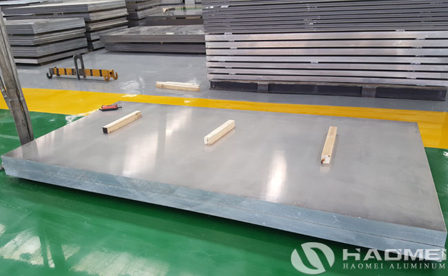 thick aluminum plate
