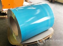 aluminum jacketing roll with moisture barrier