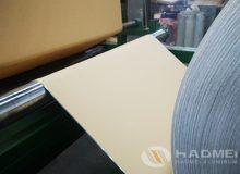 aluminum sheet with polycraft moisture barrier