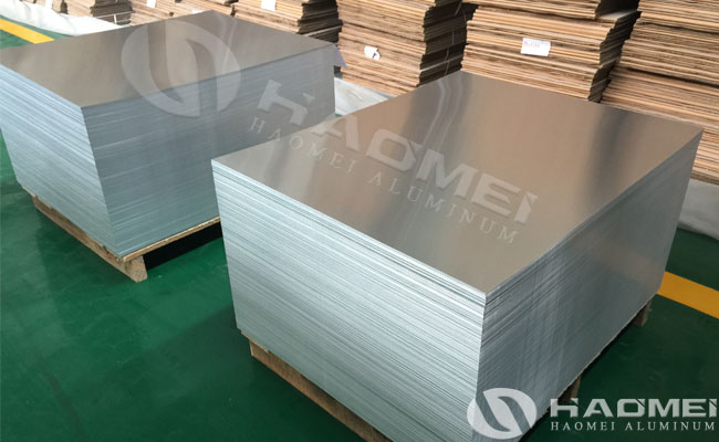 aluminum plain sheet supplier