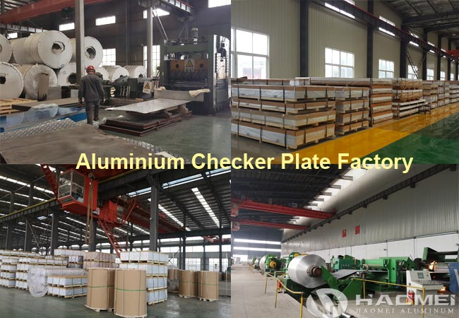 aluminum checker plate factory