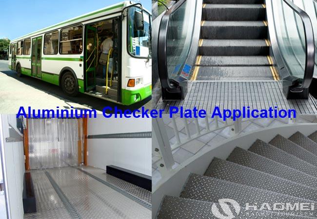 aluminum checker plate application