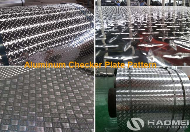 aluminum checker plate pattern