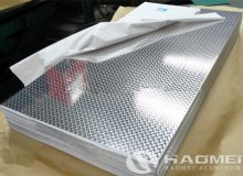 4 x 8 sheet of diamond plate aluminum