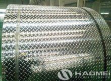 checkered aluminium sheet