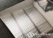8x4 aluminium chequer plate