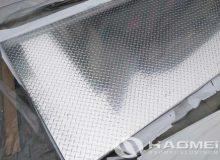 4 by 8 sheet of diamond plate aluminum