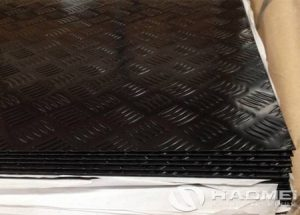 black aluminum diamond plate 4x8
