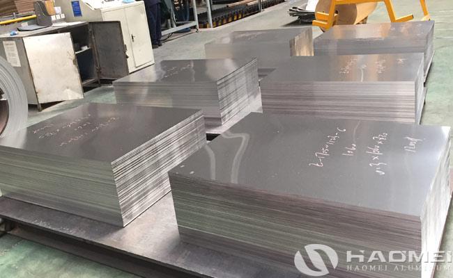 mill finished aluminium sheet