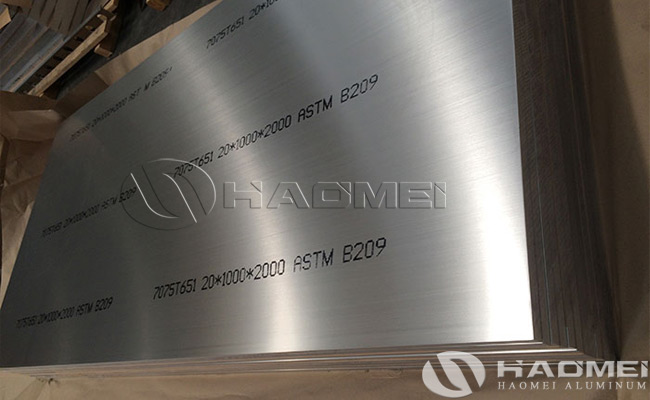 aluminum plate cut to size