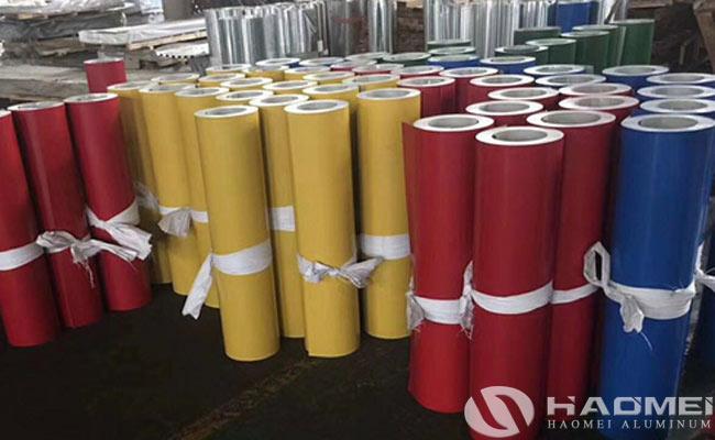 prepainted aluminum