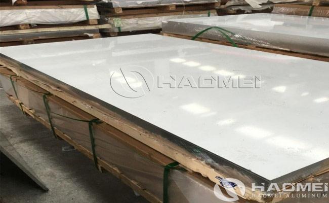 cost of aluminum plate